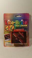 Vintage Lite-Brite Keychain Fun 4 All * Rare *
