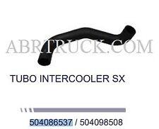 TUBO MANICOTTO RAFFREDDAMENTO SX TURBO D'ARIA INTERCOOLER IVECO Daily  504098508