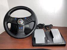 Logitech NASCAR RACING STEERING WHEEL & PEDAL CONTROL SET PS2 Playstation 2