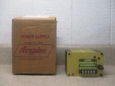 ACOPIAN POWER SUPPLY MODEL:B10G100 FUSE RAT:3/8A 250V #110756H NEW