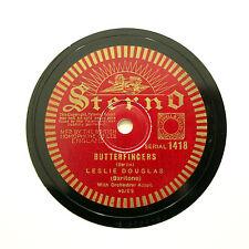 "LESLIE DOUGLAS ""Butterfingers / Josephine"" (E+) STERNO 1418 [78 RPM]"