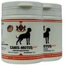 2 x Canis Motus forte Leberwurst - Glucosaminsulfat, MSM,Teufelskralle,Omega 3