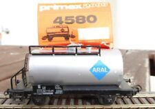 Primex 4580 Aral tank wagon DB ep. 4 Boxed, for H0, RARE, Used
