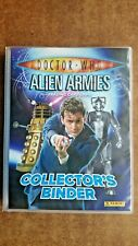 Doctor Who Alien Armies Complete Collection Including 6  limited Edition Cards
