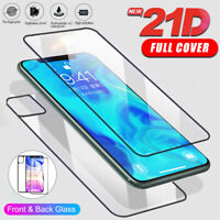 Front & Back 21D Tempered Glass Screen Protector For iPhone 11 Pro MAX/11 pro/11