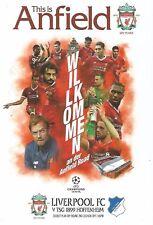 Liverpool v TSG Hoffenheim- UEFA Champion's League - 23 August 2017 - MINT