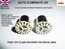 1156 BA15S 382 P21W 19 SMD LED Car Tail Brake Reverse Light Lamp Bulb White UK