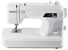 MEDION MD16661 Digitale Nähmaschine 40Watt Doppelnadelfunktion 50 Stichmuster