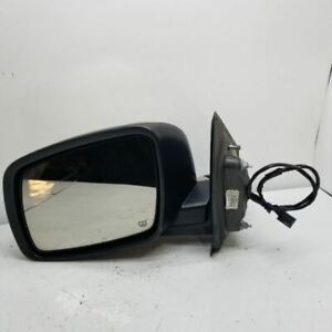 Driver Side View Mirror Power Heated Manual Folding Fits 09-17 JOURNEY 2820