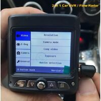 2 in 1 HD Car DVR Radar Speed Detector Vehicle Dash Cam Video Camera Recorder