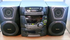 New listing Panasonic Cd Stereo System Sa-Ka25 with speakers Less remote.