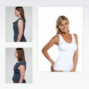 NEU ! Damen Shapewear Bauchweg Unterhemd Hemd Slim Mieder Top Formend Bodyformer