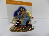 Department 56 Halloween Village An Ax to Grind No 804456 NIB