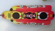 ski tube hotdog 3 person test pilot freeloader quality towable