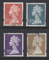 1999 MACHIN HIGH VALUES SET OF 4 SGY1800/Y1803 NICE USED