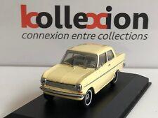 MINICHAMPS 430043000 OPEL Kadett A Limousine 1962-65 Gelb 1.43 NB