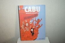 CABU REPORTEUR DESSINATEUR LES ANNEES 1980  BD ... vent d ouest  TBE