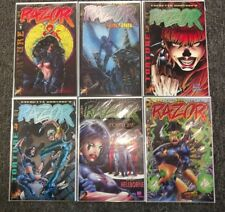 Razor Torture #1-6 2 3 4 6 (1996) Complete Mini Series London Nights Bad Girl