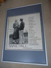 Annie Hall Movie Poster Woody Allen 1977 Original Vintage Rare Poster 42 Yrs Old