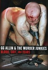 Gg Allin - Blood Shit & Fears [New DVD]