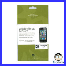 Genuine POWER SUPPORT Screen Protection Film - Anti Glare - Apple iPhone 4/4s