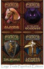 Tamora Pierce SONG OF THE LIONESS QUARTET Fantasy Series PAPERBACK Set Books 1-4