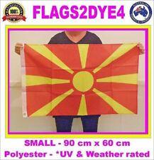 Macedonia flag Macedonian flag for caravan sport boat sailing pole or house