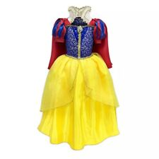 Deluxe~SNOW WHITE~COSTUME~DRESS + HEADBAND + RED CAPE~NWT~Disney Store~2020