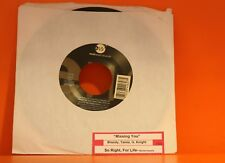 "Brandy, Tamia, G. Knight - Missing You / So Right, For Life    - 7"" single 45"