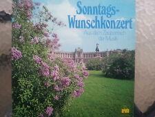 """12"""" Sonntags-Wunschkonzert - Aus dem Zauberreich der Musik -----"""