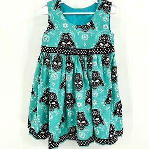 Girls Handmade Darth Vader Dress Star Wars Cute Cotton Sleeveless Sundress