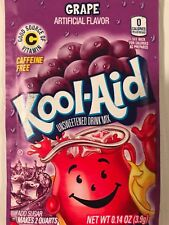 100 Kool Aid Drink Mix GRAPE