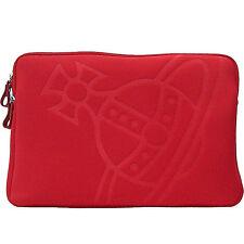 VIVIENNE WESTWOOD porta pc 17' rosso' pc case red