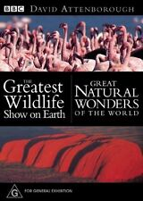 NEW..Great Natural Wonders Of The World / Greatest Wildlife Show On Earth  D3137
