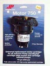 Johnson Pumps Cartridge 750 gph. Universal Replacement Cartridge. 12V Bilge Pump