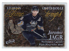 03-04 McDonalds Canada Jaromir Jagr Atomic Etched In Time Insert #6 Mint