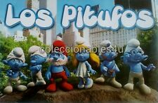 POSTER  22X32  los pitufos  the smurfs
