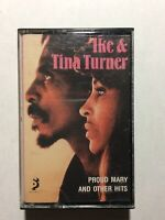 IKE & TINA TURNER PROUD MARY AND OTHER GREATEST HITS CASSETTE
