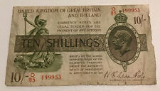 More details for 10 shilling banknote. united kingdom of great britain. dated 1922-28) pick 358.