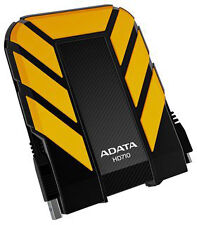 ADATA Hd710 DashDrive Durable 1tb Usb3.0 Portable External Hard Drive - Yellow a