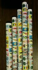 5 roll Clement MINI Mexican Loteria Bingo Paper Roll for Boards, Easter Reunion