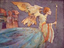 James Christensen ANGEL, Giclee Canvas #50/50