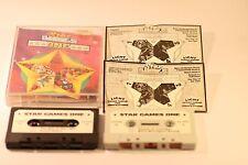 Ordenador ZX spectrum 48K 128K Estrella Juegos un paquete de 4 Juegos por Gremlin 1987