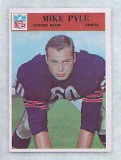 1966 Philadelphia #37 Mike Pyle Chicago Bears NM-MT to NM-MT Plus