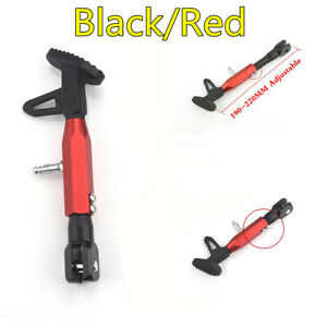 Adjustable Height Motorcycle Single Side Stand Leg Kickstand Supporter CNC Alloy