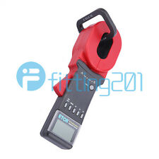 New ETCR2000A+ Digital Clamp On Ground Earth Resistance Tester Meter 1-199Ω
