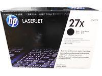 HP C4127X (27X) Black High Capacity Toner Cartridge Damaged Open Box OEM *