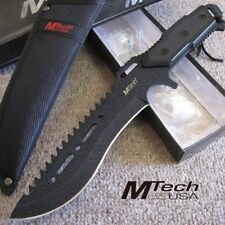 "12"" M-Tech Rambo Combat Survival Tactical Full Tang Fixed Blade Knife w/ Sheath"