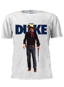 John Wayne Cowboy The Duke Inspired T Shirt Vest Tank Top Men Women Unisex M428
