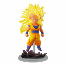 Dragon Ball Z Ultimate DeskTop Assembly SD Figure~ Super Saiyan 3 Son Goku @9586